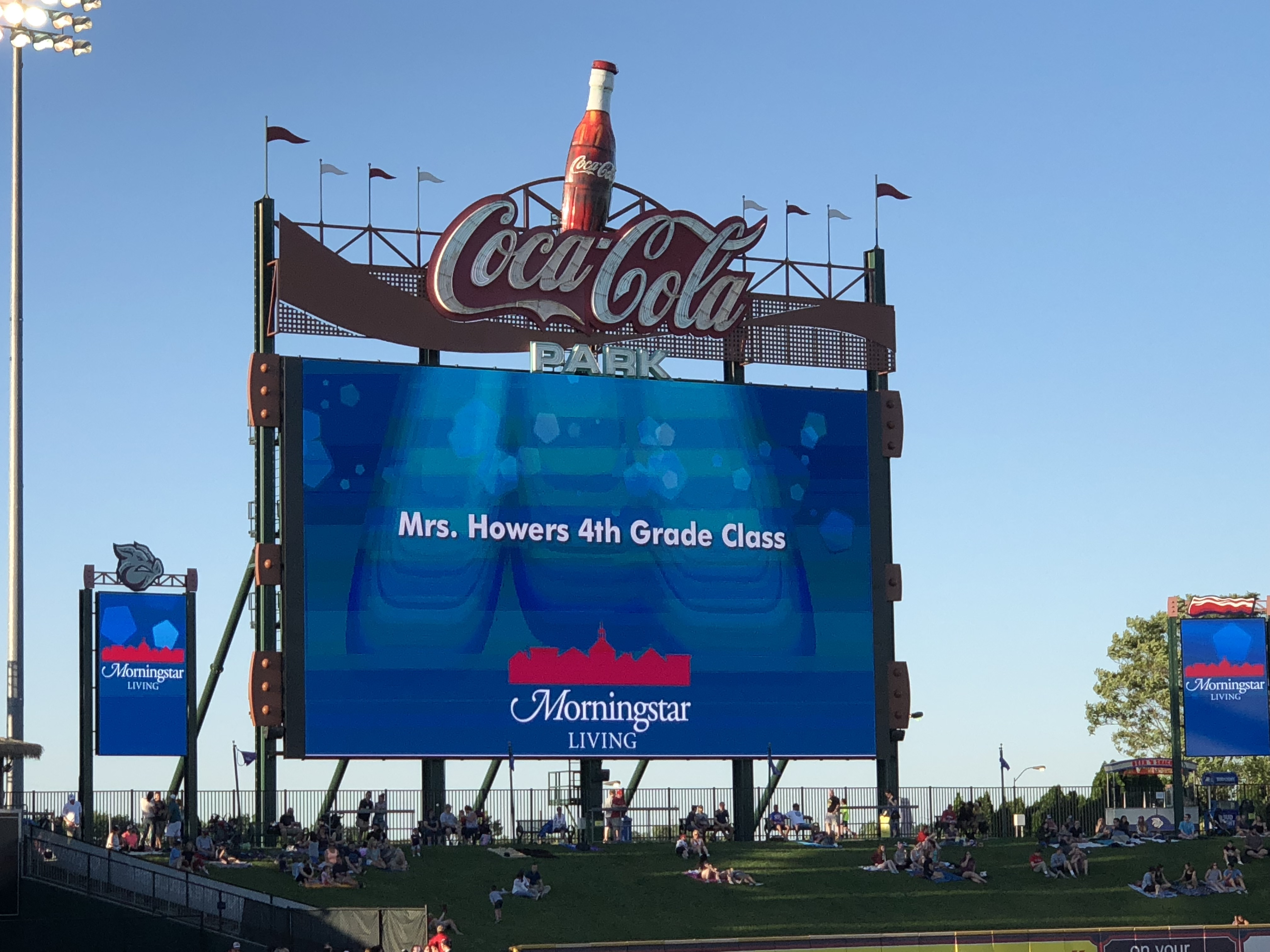 Iron Pigs Sign