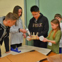 Hereford 4th Graders Partner with Perkiomen School 8th Graders in Innovation Challenge